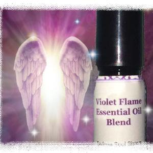 violet flame essential oil blend