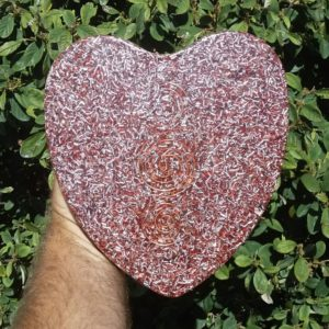 Orgonite Cake Pan Heart