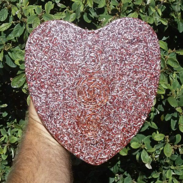 Orgonite Cake Pan Heart