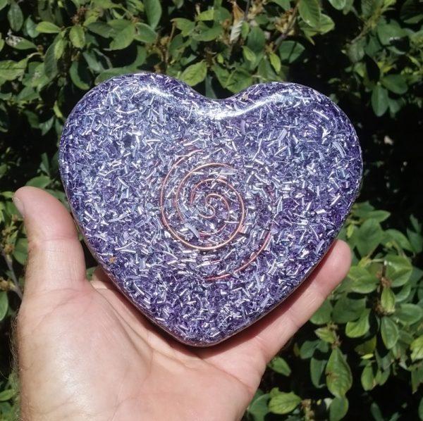 Orgonite Energy Heart - Medium Size